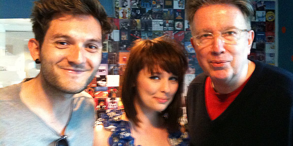 Adam Pickering, Paula Walker and Tom Robinson